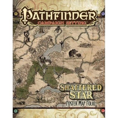 Pathfinder - Campaign Setting - Shattered Star Poster Map Folio - 401 Games