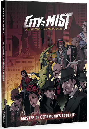 Buy City of Mist - Master of Ceremonies Toolkit (Pre-Order) and more Great RPG Products at 401 Games
