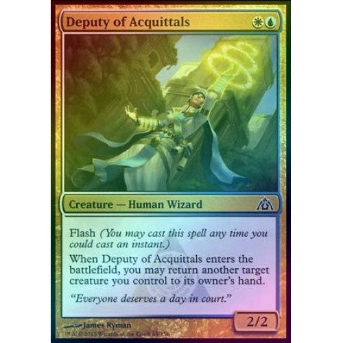 Deputy of Acquittals (Foil) (DGM) - 401 Games