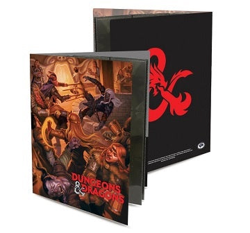 Buy Ultra Pro - 18 Pocket Sideloading Binder - Tavern Brawl DnD Character Portfolio and more Great RPG Products at 401 Games