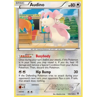 Buy Audino - 126/149 - Reverse Foil and more Great Pokemon Products at 401 Games