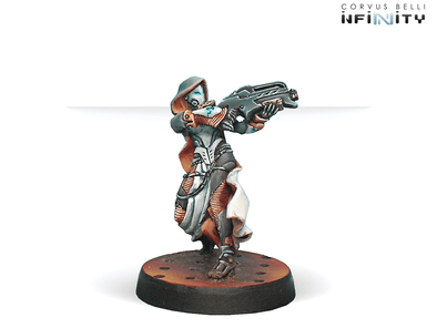 Infinity - Nomads - Reverend Custodiers (Hacker, Boarding Shotgun) - 401 Games