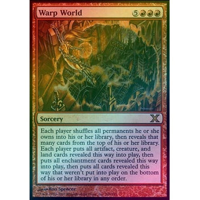 Warp World (Foil) available at 401 Games Canada