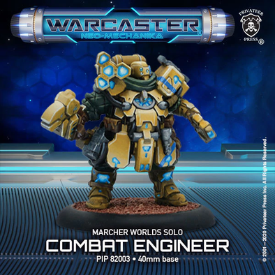 Warcaster - Neo-Mechanika - Marcher Worlds - Combat Engineer - 401 Games