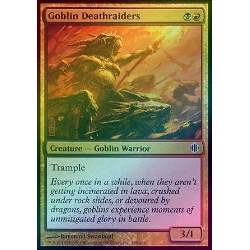Goblin Deathraiders (Foil) (ALA) available at 401 Games Canada