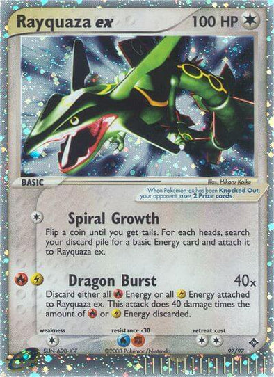 Rayquaza ex - 97/97 (DRG097) available at 401 Games Canada