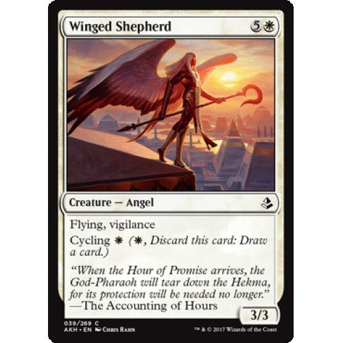 Winged Shepherd (AKH) available at 401 Games Canada