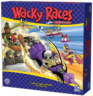 Buy Wacky Races: the Board Game and more Great Board Games Products at 401 Games