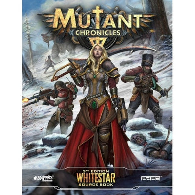 Buy Mutant Chronicles - Whitestar Source Book and more Great RPG Products at 401 Games