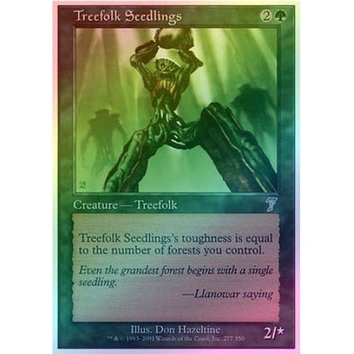 Treefolk Seedlings (Foil) available at 401 Games Canada