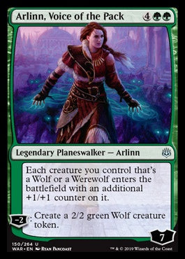 Arlinn, Voice of the Pack (WAR) (Pre-Order: 2019-05-03)