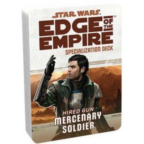 Star Wars: Edge of the Empire - Specialization Deck - Hired Gun Mercenary Soldier - 401 Games
