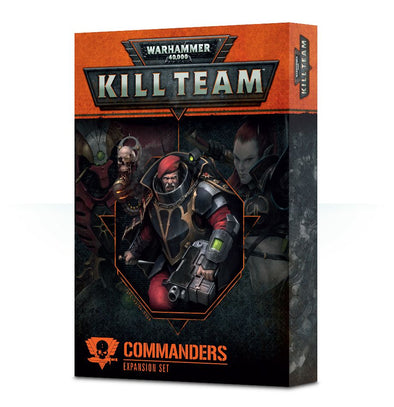 Buy Warhammer 40,000 - Kill Team - Commanders Expansion and more Great Games Workshop Products at 401 Games