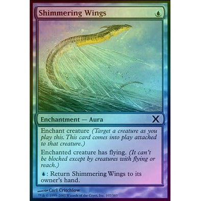 Shimmering Wings (Foil) available at 401 Games Canada