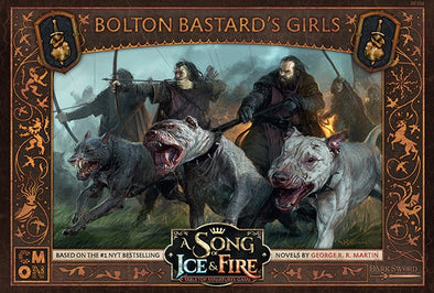 Buy A Song of Ice and Fire - Tabletop Miniatures Game - Neutral Forces - Bolton Bastard's Girls and more Great Tabletop Wargames Products at 401 Games