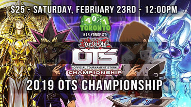 (YGO) 2019 OTS Championship available at 401 Games Canada