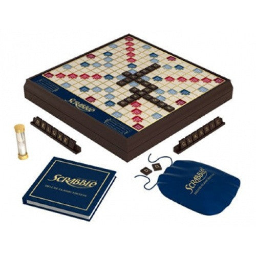 Scrabble Deluxe Wooden Edition - 401 Games