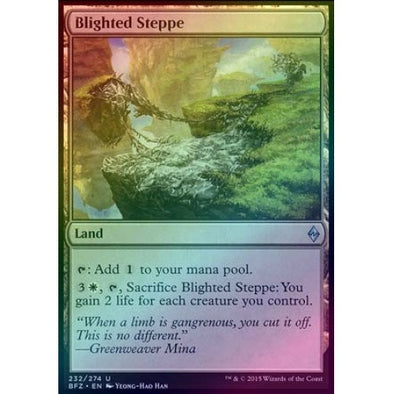 Blighted Steppe (Foil) (BFZ) available at 401 Games Canada