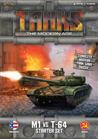 Buy Tanks - Modern Age - M1 Vs. T-64 Starter Set and more Great Tabletop Wargames Products at 401 Games