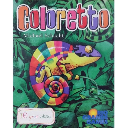 Buy Coloretto - Ten Year Edition and more Great Board Games Products at 401 Games