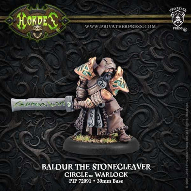 Hordes - Circle Orboros - Baldur the Stonecleaver - 401 Games