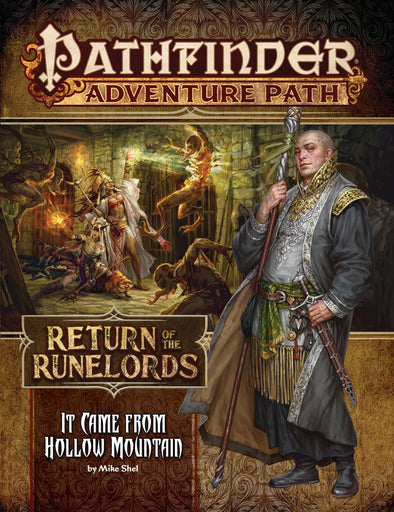 Buy Pathfinder - Adventure Path - #134 It Came from Hallow Mountain (Return of the Runelords 2 of 6) and more Great RPG Products at 401 Games