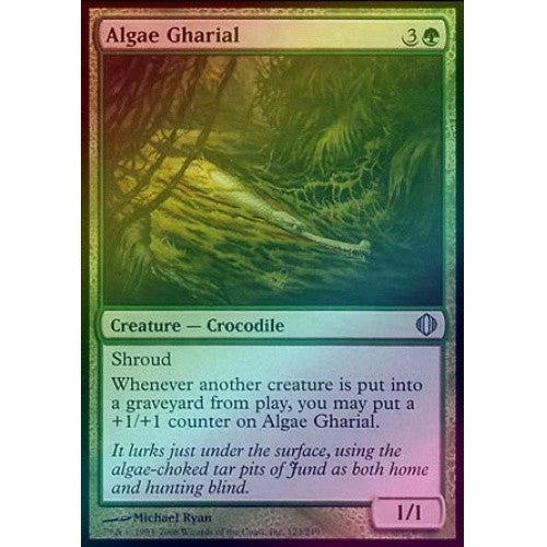 Algae Gharial (Foil) (ALA) available at 401 Games Canada