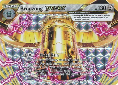 Buy Bronzong BREAK - 62/124 and more Great Pokemon Products at 401 Games