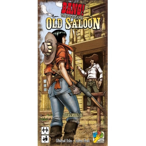 Bang! The Dice Game - Old Saloon Expansion available at 401 Games Canada