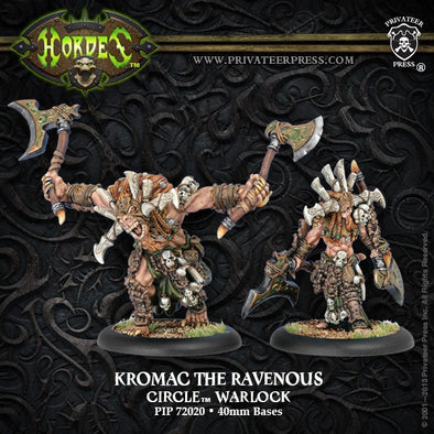 Hordes - Circle Orboros - Kromac the Ravenous - 401 Games
