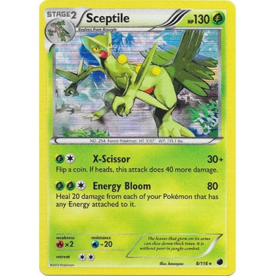 Sceptile - 8/116 - Reverse Foil (PLF008R) available at 401 Games Canada