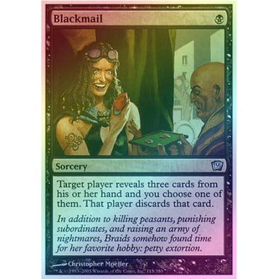Blackmail (Foil) available at 401 Games Canada