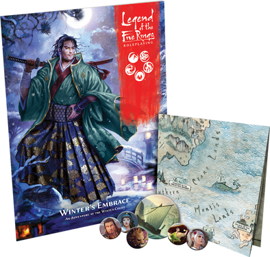 Buy Legend of the Five Rings Roleplaying - Winter's Embrace (Pre-Order) and more Great RPG Products at 401 Games