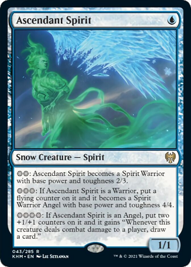 Ascendant Spirit (KHM) (Pre-Order: 2021-02-05) available at 401 Games Canada