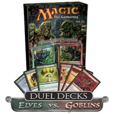 Buy MTG - Duel Deck - Elves Vs. Goblins and more Great Magic: The Gathering Products at 401 Games