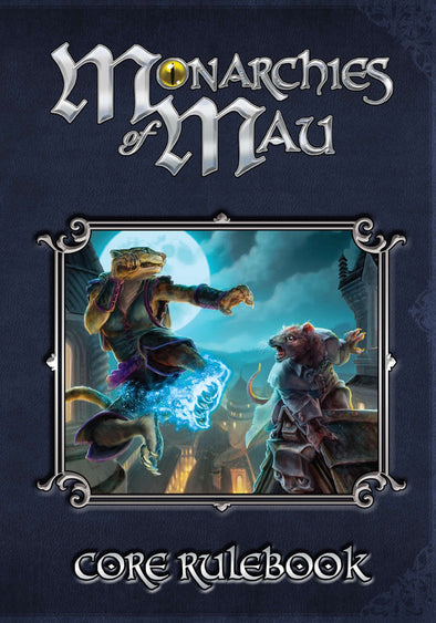 Buy Monarchies of Mau - Core Rulebook and more Great RPG Products at 401 Games