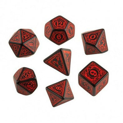 Dice Set - Q-Workshop - 7 Piece Set - Pathfinder - Wrath of the Righteous - 401 Games