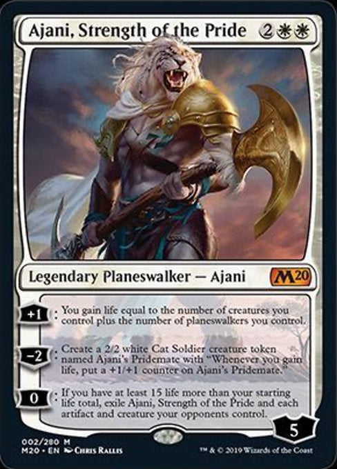 Ajani, Strength of the Pride (M20) - 401 Games