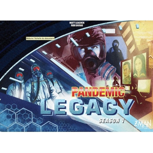 Pandemic Legacy - Season 1 - Blue