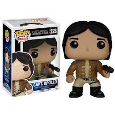 Buy Pop! Battlestar Galactica - Captain Apollo and more Great Funko & POP! Products at 401 Games