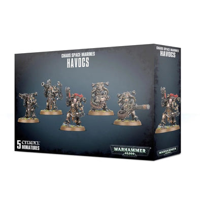 Warhammer 40,000 - Chaos Space Marines - Havocs available at 401 Games Canada