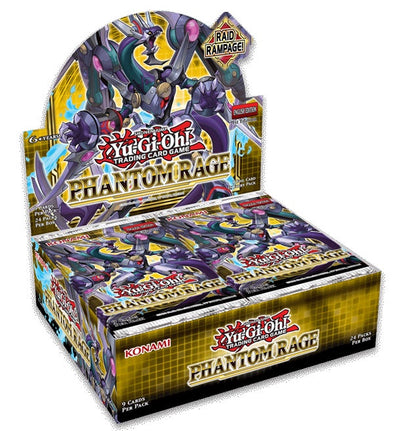 Yugioh - Phantom Rage Booster Box - 1st Edition available at 401 Games Canada