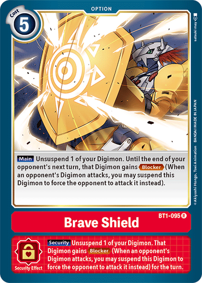 Brave Shield (BT1-095) available at 401 Games Canada