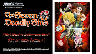 Weiss Schwarz - The Seven Deadly Sins Booster Case (Pre-Order) available at 401 Games Canada