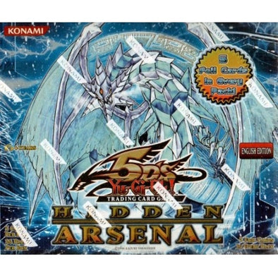 Buy Yugioh - Hidden Arsenal 1 - Booster Box and more Great Yugioh Products at 401 Games