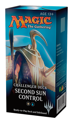 Buy MTG - Challenger Decks 2018 - Second Sun Control and more Great Magic: The Gathering Products at 401 Games