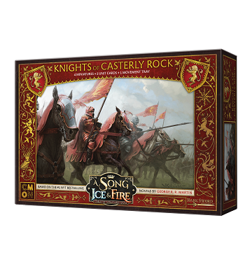 Buy A Song of Ice and Fire - Tabletop Miniatures Game - House Lannister - Knights of Casterly Rock and more Great Tabletop Wargames Products at 401 Games