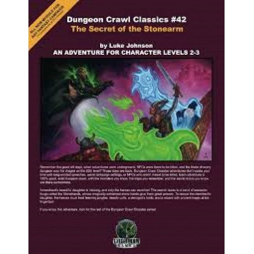 Dungeon Crawl Classics - #42 The Secret of the Stonearm - 401 Games