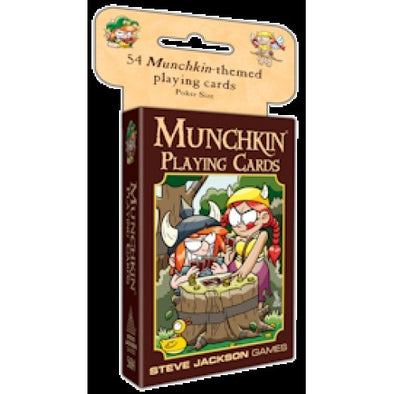 Munchkin - Playing Cards available at 401 Games Canada