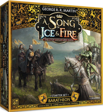 A Song of Ice and Fire - Tabletop Miniatures Game - House Baratheon Starter - 401 Games